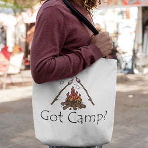 Got Camp? Novelty Funny Tote Bag Reusable - CampWildRide.com