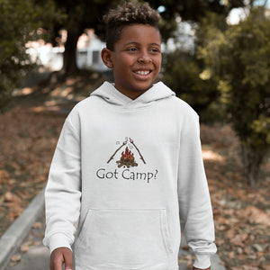 Got Camp? Novelty Youth Hoodies (No-Zip/Pullover) - CampWildRide.com