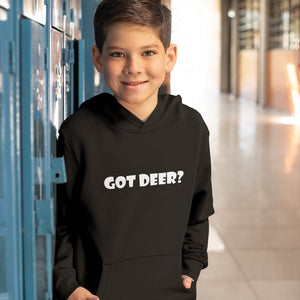 Got Deer? Novelty Youth Hoodies (No-Zip/Pullover) - CampWildRide.com