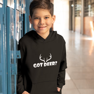 Got Deer? Nice Rack! Novelty Youth Hoodies (No-Zip/Pullover) - CampWildRide.com