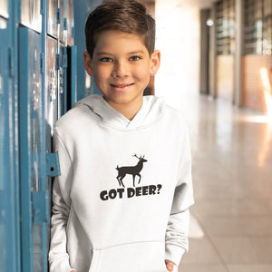 Got Deer? Stand Still! Novelty Youth Hoodies (No-Zip/Pullover)