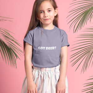 Got Deer? Novelty Short Sleeve Youth T-Shirt - CampWildRide.com