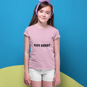 Got Deer? Novelty Short Sleeve Youth T-Shirt