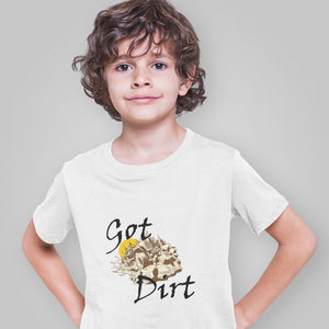 Got Dirt? Fun with your Back Road Vehicle! Novelty Short Sleeve Youth T-Shirt