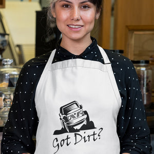 Got Dirt? Fun with your Off Road Vehicle! Novelty Funny Apron - CampWildRide.com