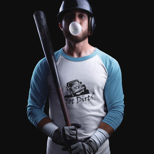Got Dirt? Fun with your Off Road Vehicle! Novelty Baseball Tee (3/4 sleeves) - CampWildRide.com