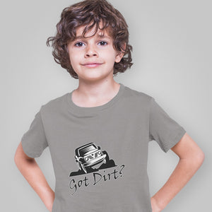Got Dirt? Fun with your Off Road Vehicle! Novelty Short Sleeve Youth T-Shirt - CampWildRide.com