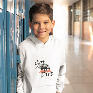 Got Dirt? Fun with your Truck! Novelty Youth Hoodies (No-Zip/Pullover)