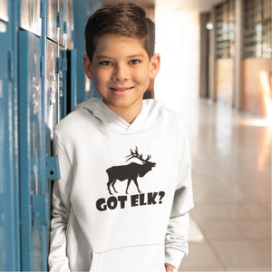 Got Elk? Stand Still! Novelty Youth Hoodies (No-Zip/Pullover) - CampWildRide.com
