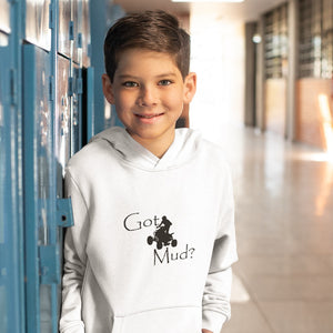 Got Mud? Fun on an ATV! Novelty Youth Hoodies (No-Zip/Pullover)