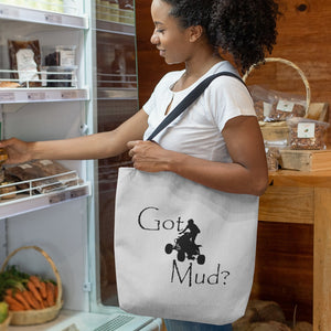 Got Mud? Fun on an ATV! Novelty Funny Tote Bag Reusable