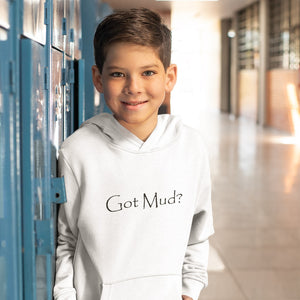Got Mud? Novelty Youth Hoodies (No-Zip/Pullover)