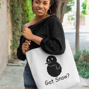 Got Snow? Build a Snowman! Novelty Funny Tote Bag Reusable - CampWildRide.com