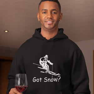 Got Snow? Downhill Skiing! Novelty Hoodies (No-Zip/Pullover) - CampWildRide.com