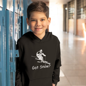 Got Snow? Downhill Skiing! Novelty Youth Hoodies (No-Zip/Pullover)