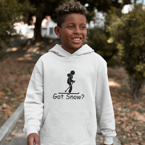 Got Snow? Having Fun on the Slopes! Novelty Youth Hoodies (No-Zip/Pullover)