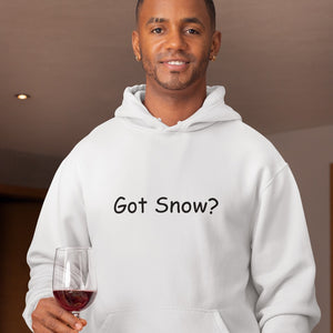 Got Snow? Novelty Hoodies (No-Zip/Pullover) - CampWildRide.com