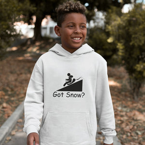 Got Snow? Let it Slide! Novelty Youth Hoodies (No-Zip/Pullover) - CampWildRide.com