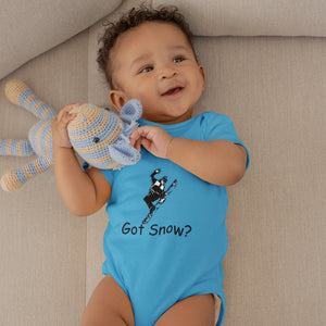 Got Snow? Cool Snowboarder! Novelty Infant One-Piece Baby Bodysuit - CampWildRide.com