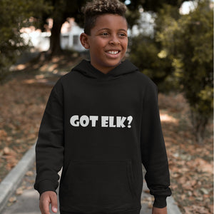 Got Elk? Novelty Youth Hoodies (No-Zip/Pullover)