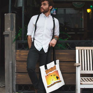 Hawaii Gets Its S'more On! Novelty Funny Tote Bag Reusable