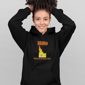 Idaho Gets Its S'more On! Novelty Hoodies (No-Zip/Pullover) - CampWildRide.com