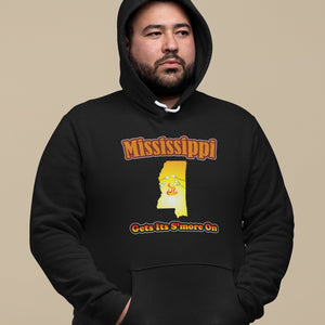 Mississippi Gets Its S'more On! Novelty Hoodies (No-Zip/Pullover)