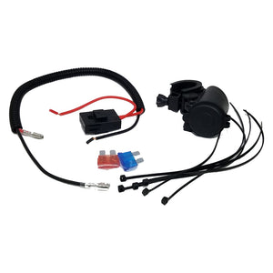 Motorcycle Dual USB Cable Charger Adapter 2.1A Power Socket - CampWildRide.com