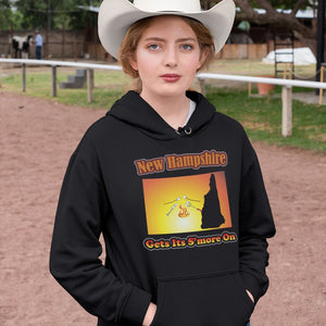 New Hampshire Gets Its S'more On! Novelty Hoodies (No-Zip/Pullover)