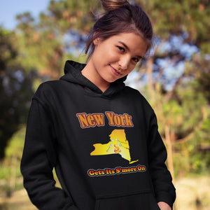 New York Gets Its S'more On! Novelty Hoodies (No-Zip/Pullover) - CampWildRide.com