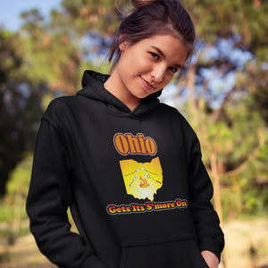 Ohio Gets Its S'more On! Novelty Hoodies (No-Zip/Pullover) - CampWildRide.com