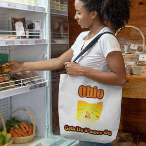 Ohio Gets Its S'more On! Novelty Funny Tote Bag Reusable