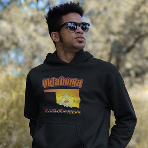 Oklahoma Gets Its S'more On! Novelty Hoodies (No-Zip/Pullover)