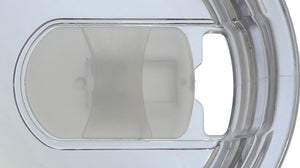 20 Oz Heavy Duty Slide Lid for the Rhino Zing Tumbler Coffee Mug Clear - CampWildRide.com