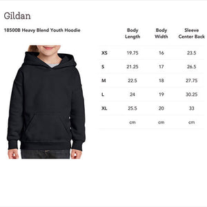 Generic Camping Hoodie! Novelty Youth Hoodies (No-Zip/Pullover)