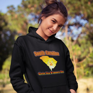 South Carolina Gets Its S'more On! Novelty Hoodies (No-Zip/Pullover)