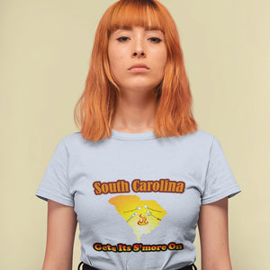 South Carolina Gets Its S'more On! Novelty Short Sleeve T-Shirt - CampWildRide.com