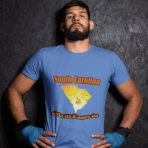 South Carolina Gets Its S'more On! Novelty Short Sleeve T-Shirt