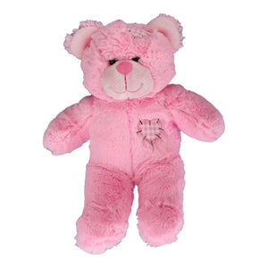 "Stuffed Animals Plush Toy - ""Pink Patches"" The Bear 8"""