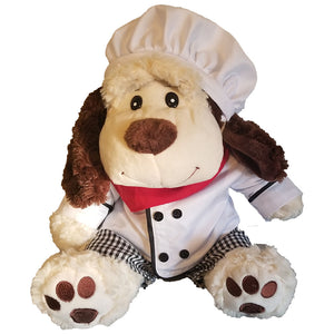 "Stuffed Animals Plush Toy - ""Buttons"" the Dog 16"" - CampWildRide.com"