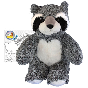 "Stuffed Animals Plush Toy - ""Bandit"" the Raccoon 16"" - CampWildRide.com"