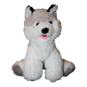 "Stuffed Animals Plush Toy - ""Snowshoe"" The Husky 8"""