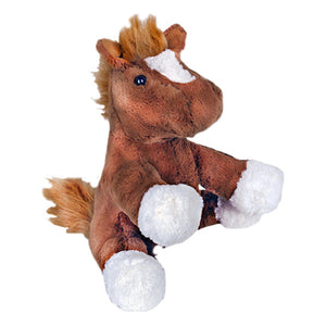 "Stuffed Animals Plush Toy - ""Chestnut"" the Horse 8"" - CampWildRide.com"