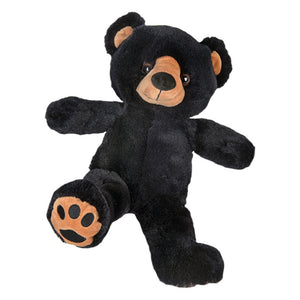 "Stuffed Animals Plush Toy - ""Benjamin"" the Black Bear 8"" - CampWildRide.com"