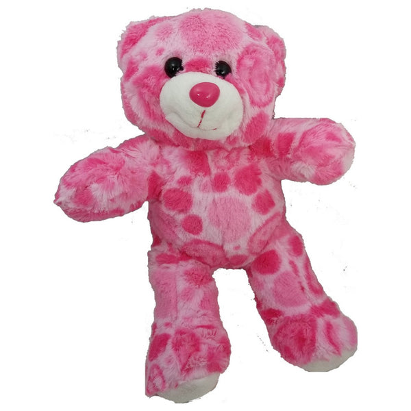 "Stuffed Animals Plush Toy - ""Harmony"" The Pink Peace Bear 8"""