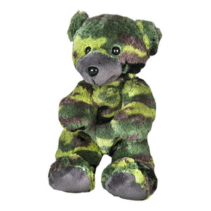 "Stuffed Animals Plush Toy - ""G.I."" The Camo Bear 8"""