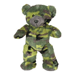 "Stuffed Animals Plush Toy - ""G.I."" the Camo Bear 8"" - CampWildRide.com"