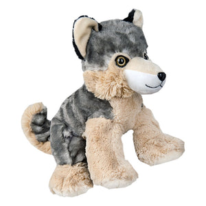 "Stuffed Animals Plush Toy - ""Timber"" the Wolf 8"" - CampWildRide.com"