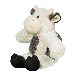 "Stuffed Animals Plush Toy - ""Bessie Mae Moo-Cho"" the Cow 8"" - CampWildRide.com"