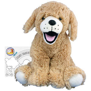 "Stuffed Animals Plush Toy - ""Goldie"" the Lab 16"""